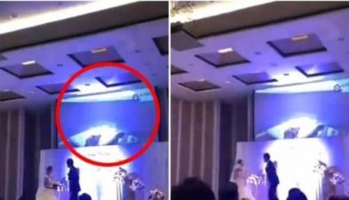 بعدما اكتشف خيانتها قبل الزواج.. هكذا انتقم عريس من عروسه أمام الحضور في ليلة زفافهما؟!(فيديو)