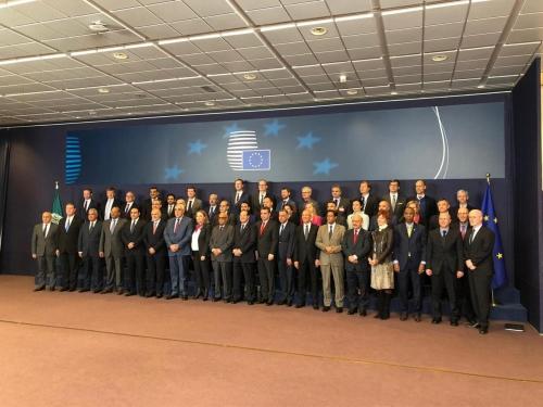 بلادنا تشارك في الاجتماع المشترك الأوربي العربي الذي تستضيفه العاصمة بروكسل.