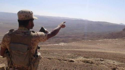 الحوثي ينجح في اختراق جبهة نهم من الفرضة