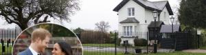 إغلاق منزل الأمير هاري وميغان في بريطانيا
