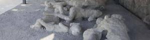 دراسة:حرارة بركان فيزوف العالية حوّلت دماغ أحد الضحايا لزجاج