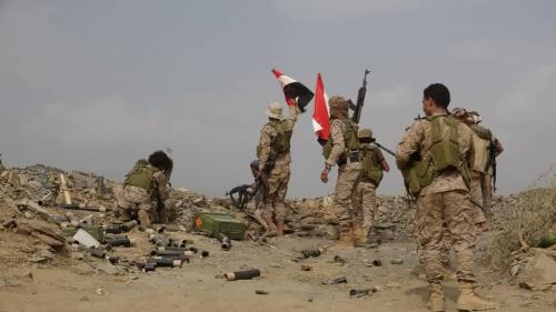 عاجل ... اشتعال المواجهات في جبهة تعز والجيش الوطني يسيطر على مواقع للمليشيا