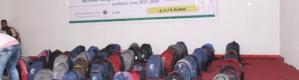 بتمويل من مركز الملك سلمان تدشين توزيع 5000 حقيبة مدرسية ل5 مديريات بلحج