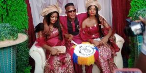شاهد الصورة : حفل زفاف لشقيقتين تتزوجان من رجل واحد .. والسبب لا يخطر على بال ؟