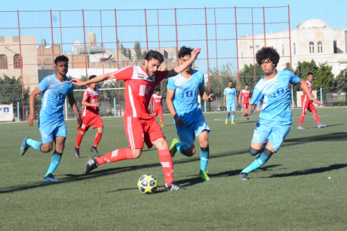 مهرجان اهداف في المباراة الافتتاحية لبطولة القدم بملتقى الوحدة الشتوي
