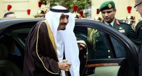 فيديو:  شاهد السيارة التي يركبها ملك المملكة العربية السعودية