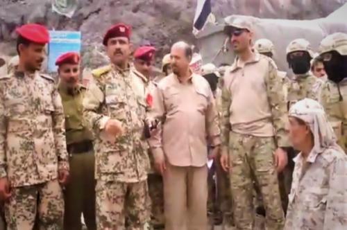 حراسة الرئيس هادي تستلم قلعة صيرة القريبة من معاشق بعدن