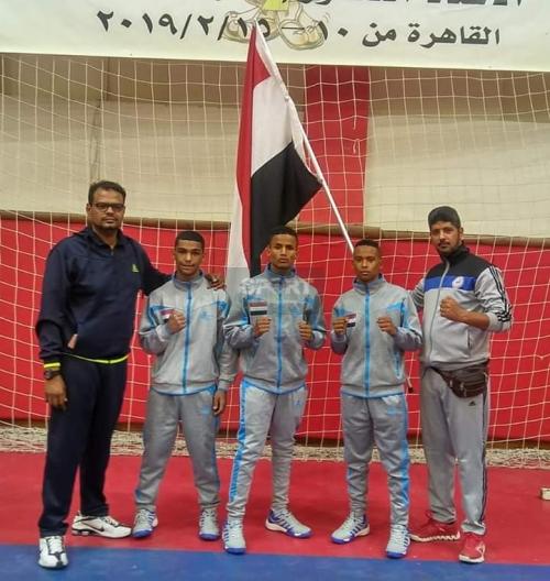 افتتاح مميز للبطولة العربية الرابعة  للملاكمة ( الشباب ) بالقاهرة