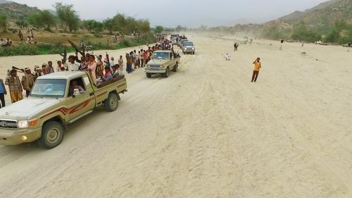 قبائل حجور تسيطر على إذاعة الحوثي وتعلن عبرها بيان الانتصار