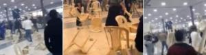 بالفيديو: أشرس مضاربة جماعية في حفل عرس بلبنان والنهاية مفاجأة