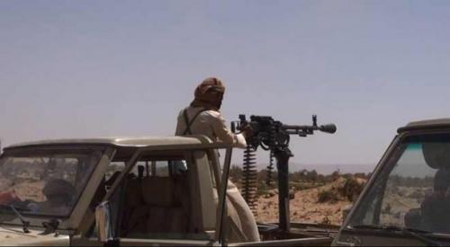 """شاهد اولي """"الصور"""" من مدينة الحزم بالجوف بعد انباء سقوطها بيد الحوثيين"""