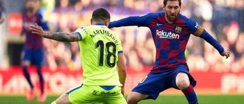 برشلونة يشعل سباق الصدارة بفوز صعب على خيتافي