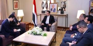 رئيس الوزراء يستقبل السفير الصيني لدى اليمن