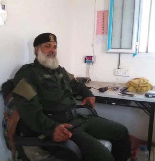 قيادة قوات الحزام الامني بعدن تنعي استشهاد القائد (ابو راغب)