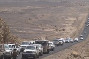 الحوثيون يعلنون فتح طريق فرضة نهم