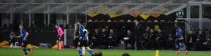 إنتر يتحدى كورونا ويفوز في الدوري الأوروبي من دون جمهور (فيديو)