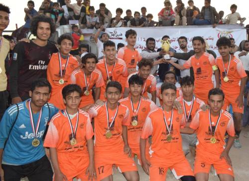 مأرب: صافر يحرز كأس 11 فبراير بخماسية امام شباب النهضة