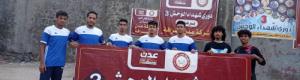 فريق ابو حربة يتغلب على طيور الممدارة ويتأهل إلى الدور الثاني من بطولة شهداء الوحش.