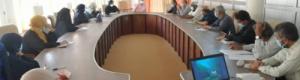 الرقيبي يناقش سبل وخيارات منظومة التربية والتعليم في عدن للتعامل مع الموجة الجديدة لوباء كورونا