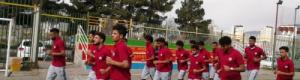 منتخبنا الأولمبي يجري أولى حصصه التدريبية في طهران.