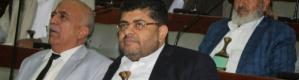 رئيس سلطة الامر الواقع الحوثية يؤدي يمين غير شرعية امام مجلس النواب الانقلابي