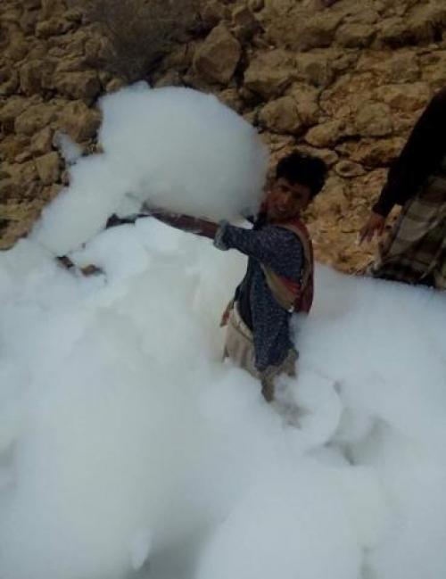 سقوط كتلة من السحب في إحدى المناطق اليمنية ...اليك الحقيقة (صور+فيديو)