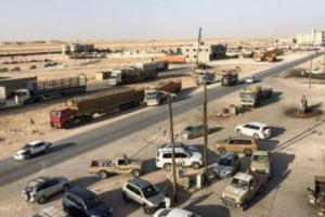 تفاصيل استهداف منفذ شحن الحدودي بين اليمن وسلطنة عمان بعدة صواريخ وهذه حصيلة الهجوم