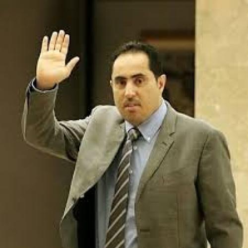 الزميل ماهر المتوكل يشكر وزير الشباب والرياضة نايف البكري