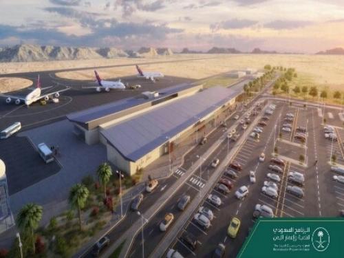 شاهد..( صورة) مشروع عملاق سيفتح مأرب على العالم هو الأكبر للسعودية في اليمن
