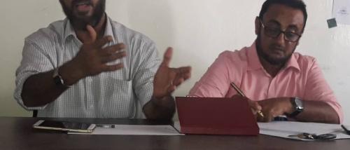 اختيار الصحفي الرياضي(عصام علي محمد) رئيسا للجنة المؤقتة للاتحاد العام للاعلام الرياضي في ابين