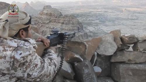 عاجل ..  الجيش الوطني يستعيد اذناب صعدة