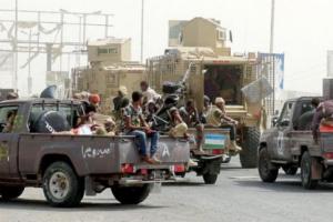 قوات العمالقة تمنع حراس الجمهورية والمقاومة التهامية من الدخول إلى العاصمة