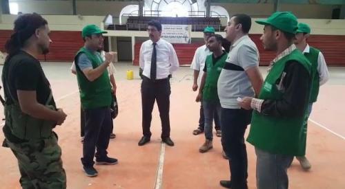 البرنامج السعودي لإعادة الاعمار باليمن يقر تنفيذ مشاريع رياضية بعدن