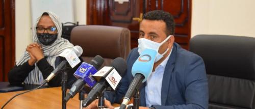 في مؤتمر صحفي : وكيل وزارة الصحة يستعرض الجهود والترتيبات لتنفيذ مشروع اللقاح لكوفيد ١٩