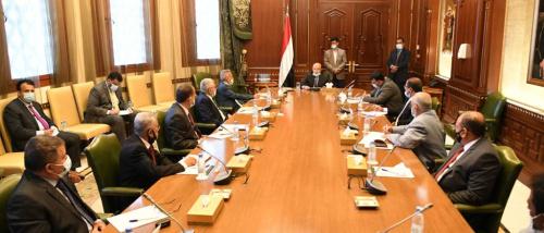 هادي يراس اجتماعا استثنائيا لمجلس القضاء الأعلى