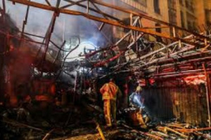 إسرائيل تقصف اهداف إيرانية وانفجارات كبيرة تضرب طهران