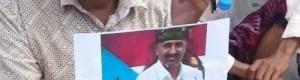 قوات امنية تنهب ارض الشهيد سعيد تاجرة القميشي بعدن (فيديو)