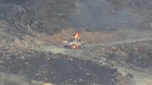 قصف جوي ومدفعي يدك أوكار المليشيات الحوثية في مأرب (تفاصيل)