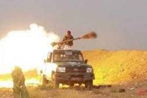 بالفيديو.. مشاهد نوعية لعمليات استهداف دقيقة والسنت النيران تلتهم عربات وأطقم الحوثيين غرب مأرب