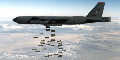 قاذفات B52 تنفذ أولى طلعاتها في منطقة الخليج ومقاتلات أف 15 وأف 35 تنضم وهذا مايحدث الان؟