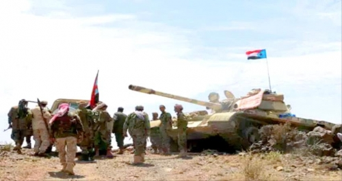 إصابة قيادي عسكري بارز في مواجهات عنيفة شمال الضـالع