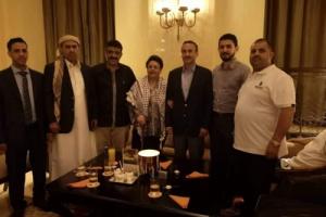 شاهد (السيد) في منزل احمد علي عبدالله صالح بدولة الإمارات