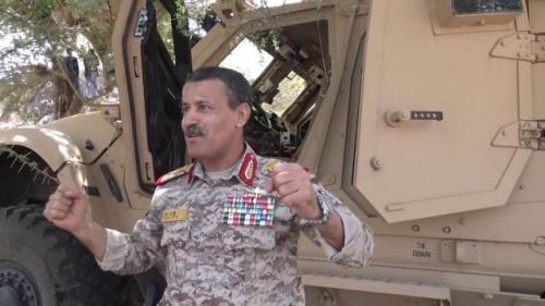 ما حقيقة اصابة وزير دفاع الحوثيين بغارة جوية لطيران التحالف العربي