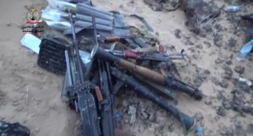 شاهد.. الجيش الوطني ينشر مشاهد للأسلحة النوعية التي استعادها من الحوثيين في الكسارة