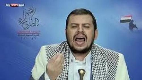 """عبدالملك الحوثي يحرض علنا أمام الشاشات على """"بلقيس الحداد"""" ويصفها بـ """"النصابة"""""""