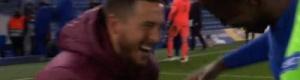 """كيف فعل ذلك؟.. تصرف هازارد """"المستفز"""" بعد سقوط ريال مدريد؟"""