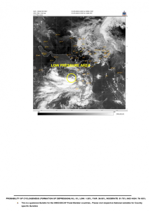 المركز الوطني للأرصاد الجوية يوضح بشان الاعصار القمعي الذي يهدد اليمن يوم السبت