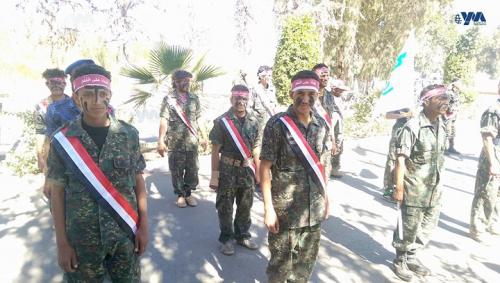 قال سيحرر بهم فلسطين:   الحوثي يجند الشباب اليمني لقتال اليمنيين في اليمن