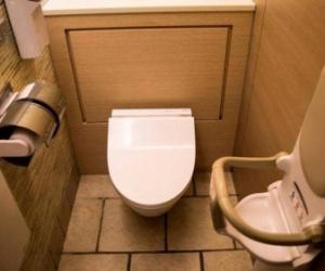 """اختراع غريب.. """"كرسي مرحاض"""" يكشف أمراضك القلبية"""