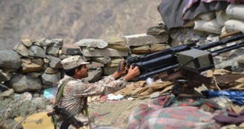 تجدد عمليات القصف بين المقاومة الجنوبية ومليشيات الحوثي بعقبة ثرة